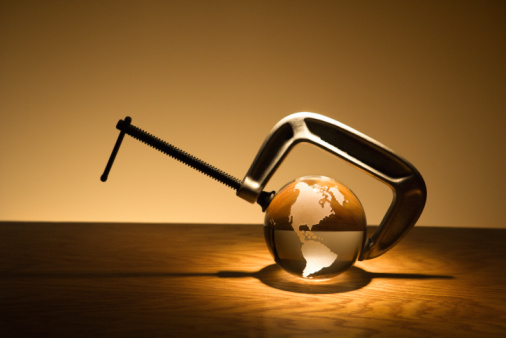 Sepia Toned「Glass globe in c-clamp」:スマホ壁紙(5)