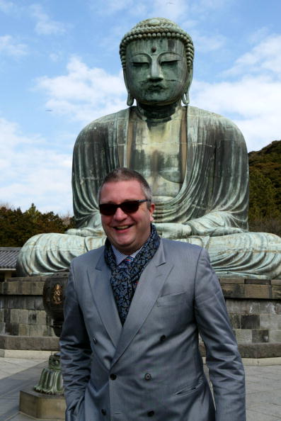 Giant Buddha「Belgian Prince Laurent Visits Japan」:写真・画像(12)[壁紙.com]
