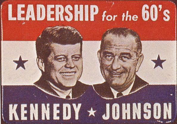Presidential Election「John F. Kennedy & LBJ Campaign Button」:写真・画像(11)[壁紙.com]