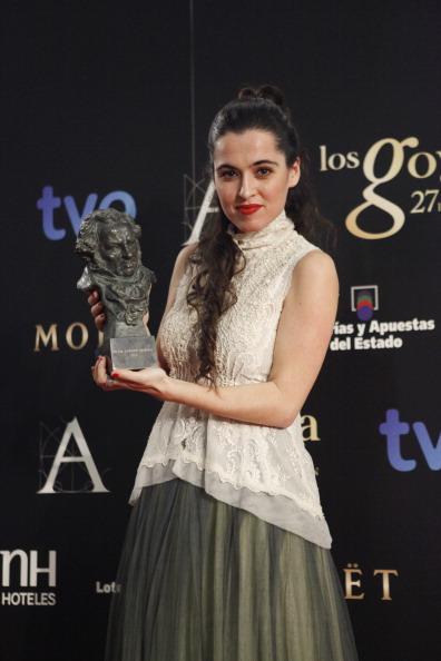 Sleeveless Top「Goya Cinema Awards 2013 - Press Room」:写真・画像(9)[壁紙.com]