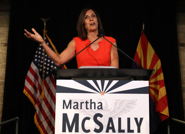 Arizona GOP Senate Candidate Martha McSally Attends Primary Night Event In Tempe:ニュース(壁紙.com)