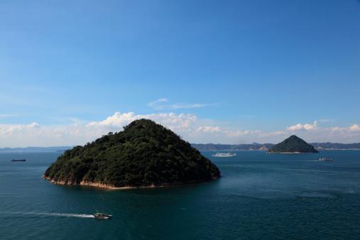 Kagawa Prefecture「Ozuchi-jima and Kozuchi-jima, Takamatsu, Kagawa, Japan」:スマホ壁紙(2)