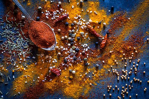Spice「Ground spices background」:スマホ壁紙(5)