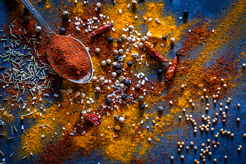 Dried Food「Ground spices background」:スマホ壁紙(0)