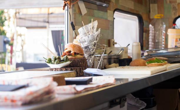 Sandwich food truck:スマホ壁紙(壁紙.com)