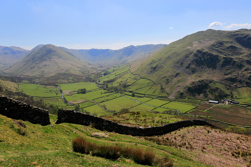Color Image「The Martindale valley, Lake District National Park」:スマホ壁紙(12)