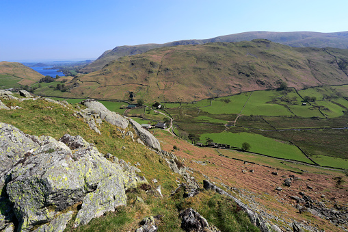 Color Image「The Martindale valley, Lake District National Park」:スマホ壁紙(19)
