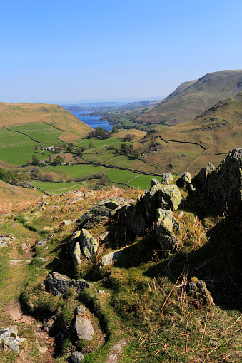 Color Image「The Martindale valley, Lake District National Park」:スマホ壁紙(16)