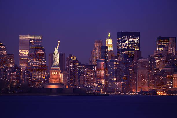New York Skyline:スマホ壁紙(壁紙.com)