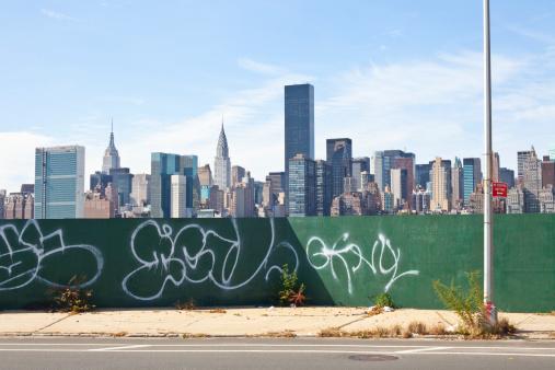 Airbrush「New York skyline」:スマホ壁紙(4)