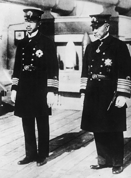 Crown Prince Hirohito And Togo Heihachiro:ニュース(壁紙.com)