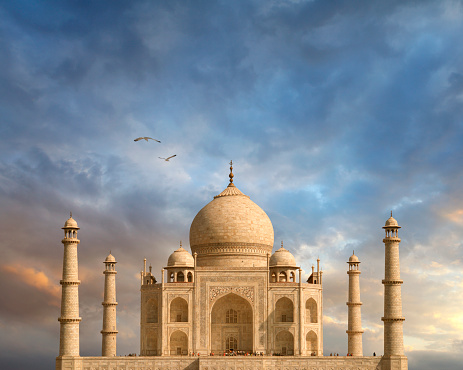 タージ・マハル(インド)のまとめ:2009年06月02日(壁紙.com)
