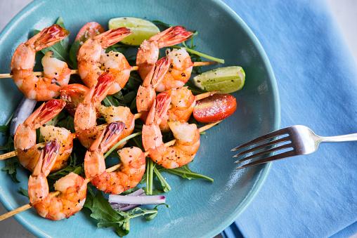 Seafood「Grilled shrimps」:スマホ壁紙(19)