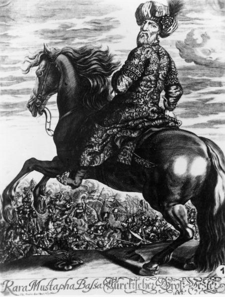 Horse「Portrait of the Grand Vizier Kara Mustapha during the Second Siege of Vienna, Cooper engraving, 17th century」:写真・画像(5)[壁紙.com]