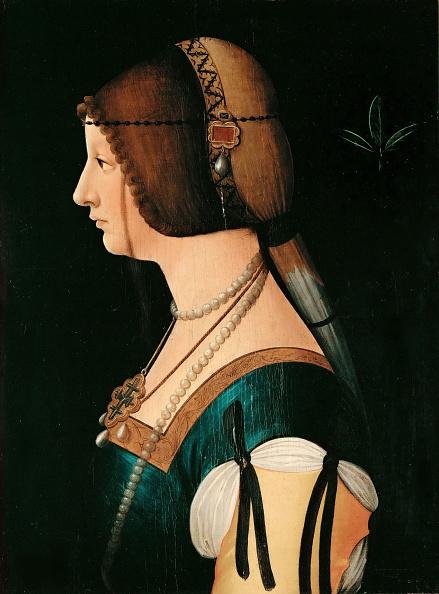 Renaissance「Portrait Of Bianca Maria Sforza 1472-1510」:写真・画像(17)[壁紙.com]