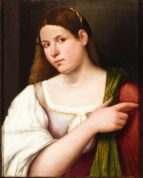 Renaissance「Portrait Of A Young Woman  Creator: Cariani」:写真・画像(19)[壁紙.com]