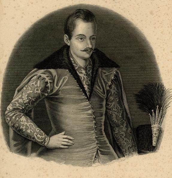 Etching「Portrait Of The Prince Roman Sanguszko (1537-1571)」:写真・画像(6)[壁紙.com]