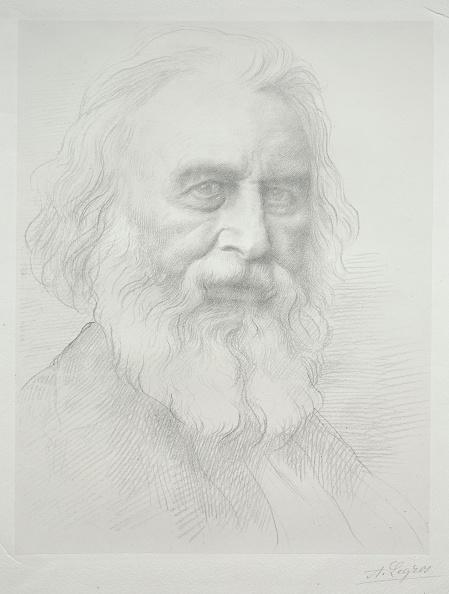 1900「Portrait Of Henry Wadsworth Longfellow (2Nd Plate). Creator: Alphonse Legros (French」:写真・画像(1)[壁紙.com]