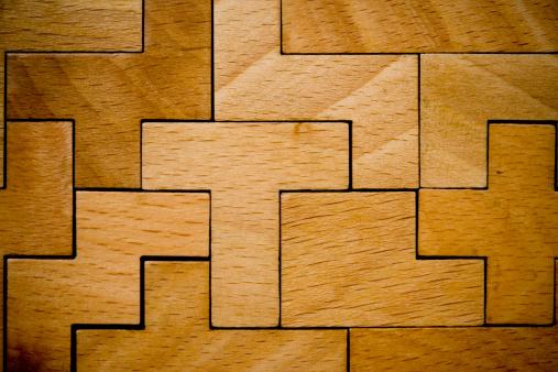 Connection「Wooden Puzzle」:スマホ壁紙(13)