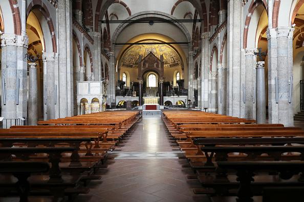 Church「Northern Italy In The Grip Of Covid-19 Coronavirus」:写真・画像(2)[壁紙.com]