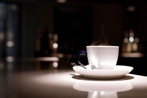 Mug「Espresso Coffee in Luxurious Hotel Bar」:スマホ壁紙(4)