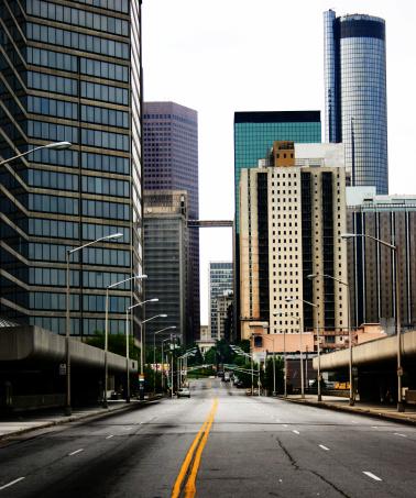 Downtown District「Atlanta_city」:スマホ壁紙(19)