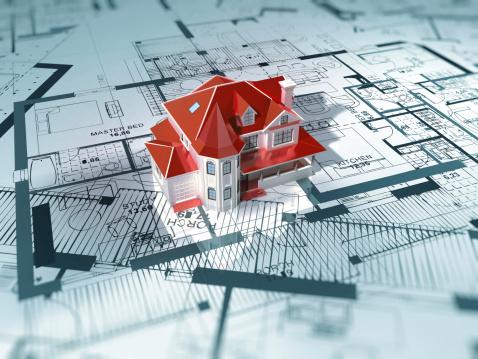 Printout「Home Interior-House Blueprint」:スマホ壁紙(13)