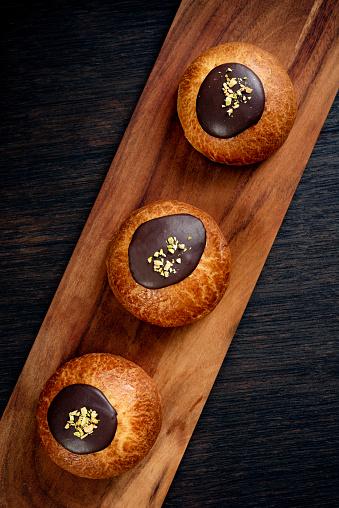 Danish Culture「Traditional Old Fashioned Fastelavnboller or Danish Cream Cakes」:スマホ壁紙(10)