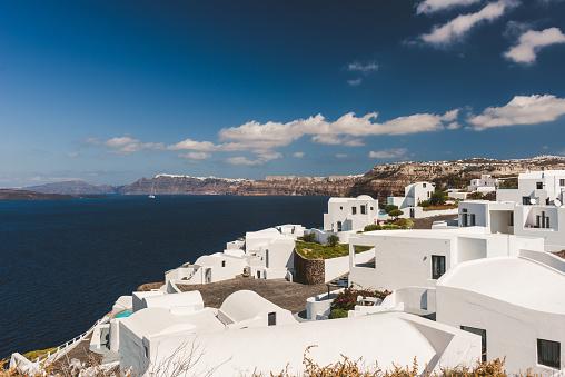 Greek Islands「Traditional white roof village, Greece」:スマホ壁紙(11)