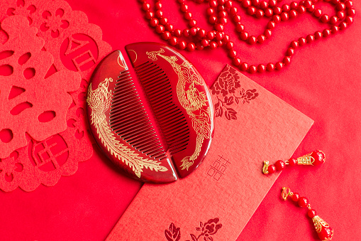 Wedding Invitation「Traditional Chinese wedding elements」:スマホ壁紙(19)