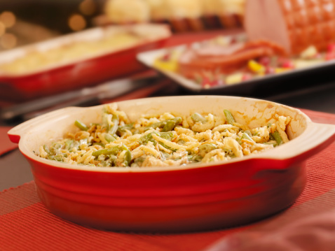 Glazed Food「Traditional Green Bean Casserole」:スマホ壁紙(10)