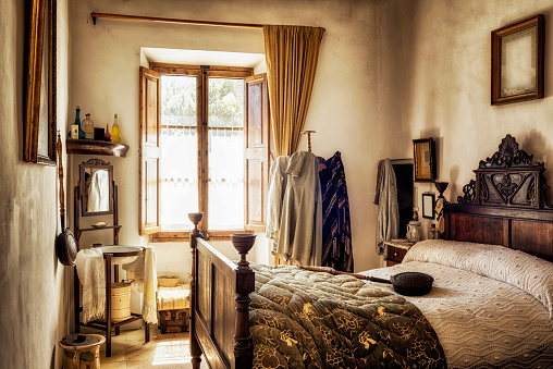 Agricultural Building「Ancient majorcan bedroom」:スマホ壁紙(19)