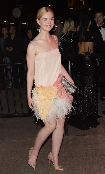 "Elle Fanning「""Rei Kawakubo/Comme des Garcons: Art Of The In-Between"" Costume Institute Gala - After Parties」:写真・画像(4)[壁紙.com]"