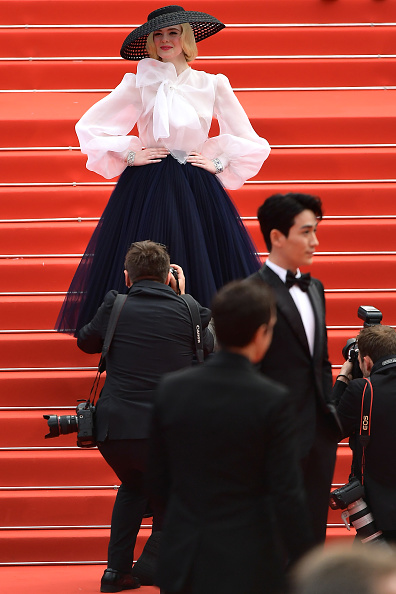 "Elle Fanning「""Once Upon A Time In Hollywood"" Red Carpet - The 72nd Annual Cannes Film Festival」:写真・画像(8)[壁紙.com]"