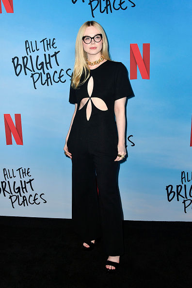 "Elle Fanning「Special Screening Of Netflix's ""All The Bright Places""」:写真・画像(2)[壁紙.com]"