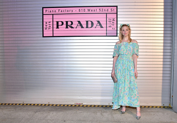 Elle Fanning「Prada Resort 2020 Fashion Show」:写真・画像(2)[壁紙.com]