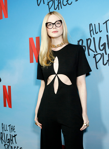 "Elle Fanning「Netflix Premiere of ""All the Bright Places""」:写真・画像(8)[壁紙.com]"