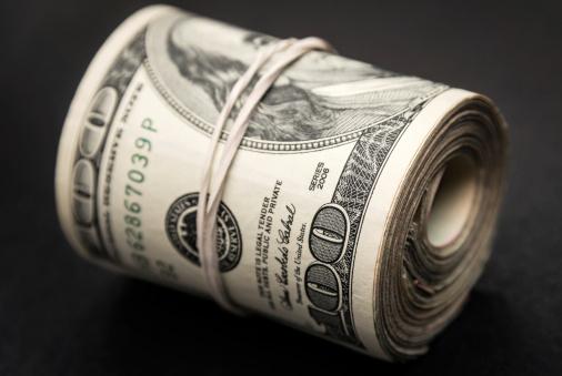 American One Hundred Dollar Bill「Roll of Money」:スマホ壁紙(15)