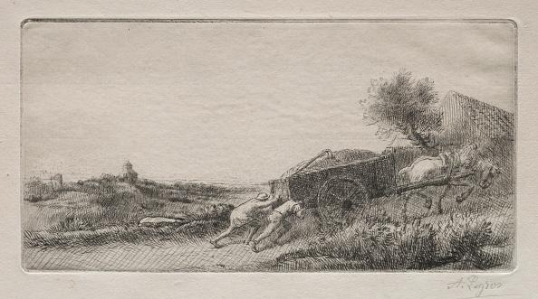 1900「Rentrant Le Foin. Creator: Alphonse Legros (French」:写真・画像(4)[壁紙.com]