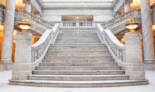 Steps and Staircases「Utah State Capitol Building」:スマホ壁紙(11)
