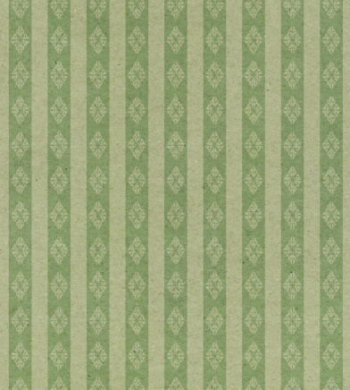 Regency Style「faded green striped paper with ornament」:スマホ壁紙(18)