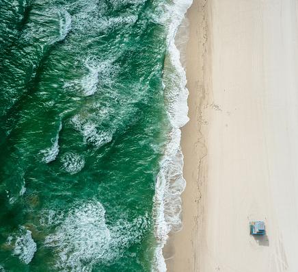 Gulf Coast States「south beach from the air - miami」:スマホ壁紙(9)