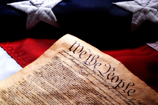Politics「US Constitution and Flag」:スマホ壁紙(18)