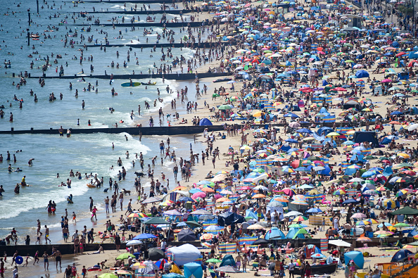 Beach「UK Experiences Summer Heatwave」:写真・画像(19)[壁紙.com]