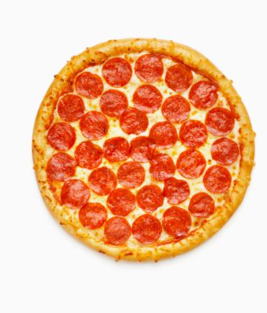 Unhealthy Eating「Whole Pepperoni Pizza」:スマホ壁紙(17)