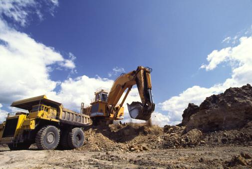 Earth Mover「Excavation Vehicle & dump」:スマホ壁紙(0)