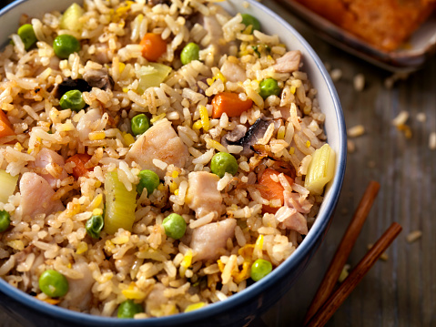 Chicken Meat「Chicken and Vegetable Fried Rice」:スマホ壁紙(9)
