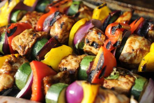 Chicken Meat「Chicken and Vegetable Kebab」:スマホ壁紙(13)