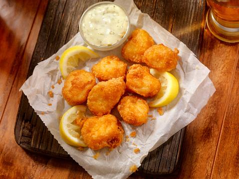 Deep Fried「Beer Battered Fish Bites with Tarter Sauce」:スマホ壁紙(15)