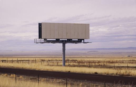 Politics「Blank billboard」:スマホ壁紙(1)